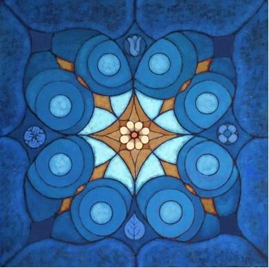'Seasons' oil on canvas 80x80cm