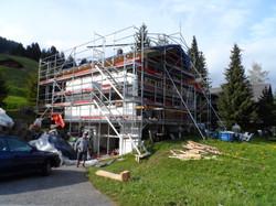 façades rénovées