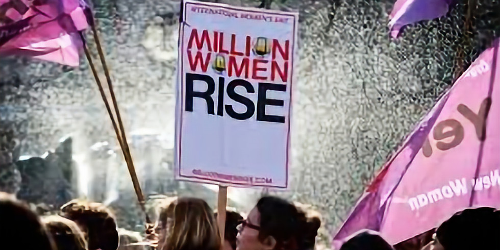 CANCELLED - Million Women Rise March