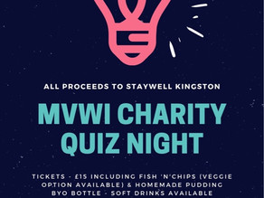 Charity Quiz Night tickets on sale now!