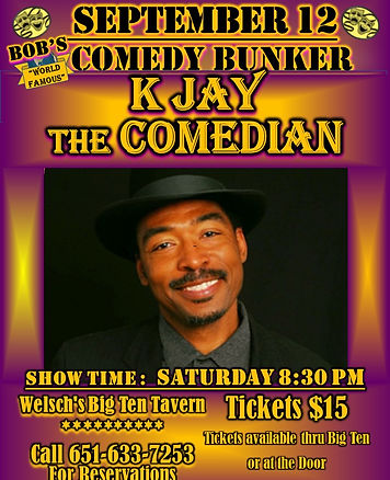 Bunker Comedy2020. SEP.12.flyer.K.JAYthe