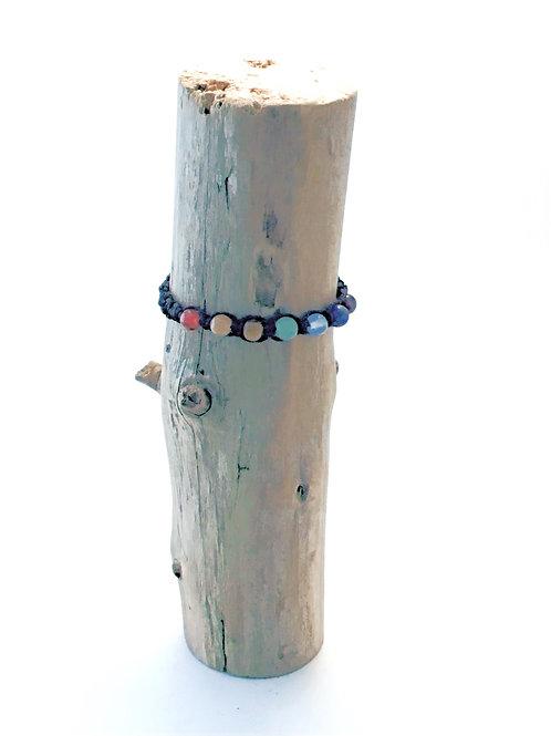 Manik-manik shamballa armband met chakra kralen