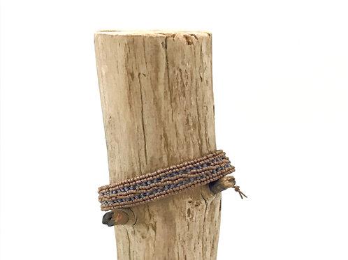 Manik-manik macramé armband