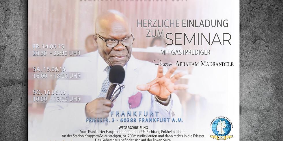 Seminar 2019 Frankfurt am Main