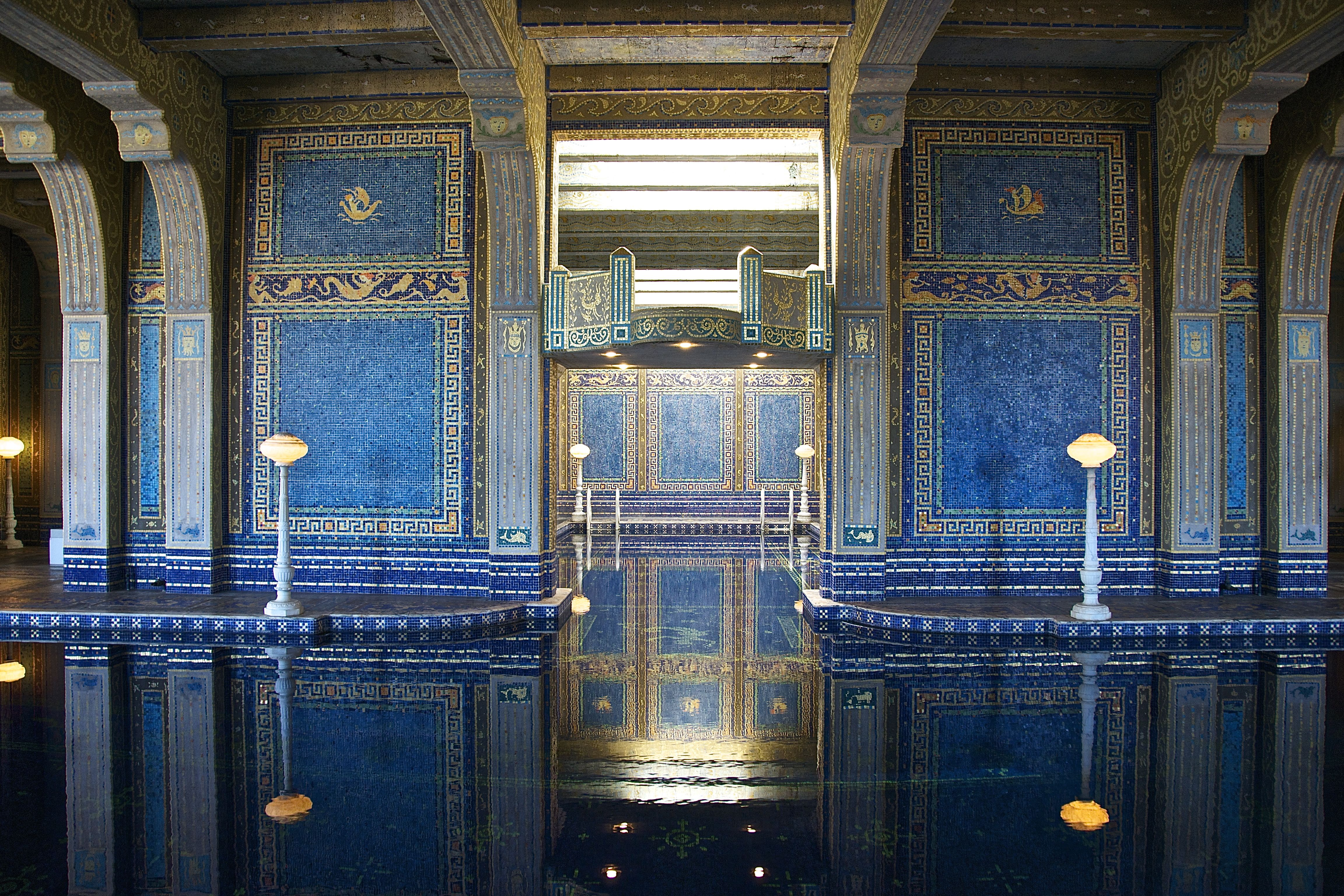 Roman Pool @ Hearst Castle, CA