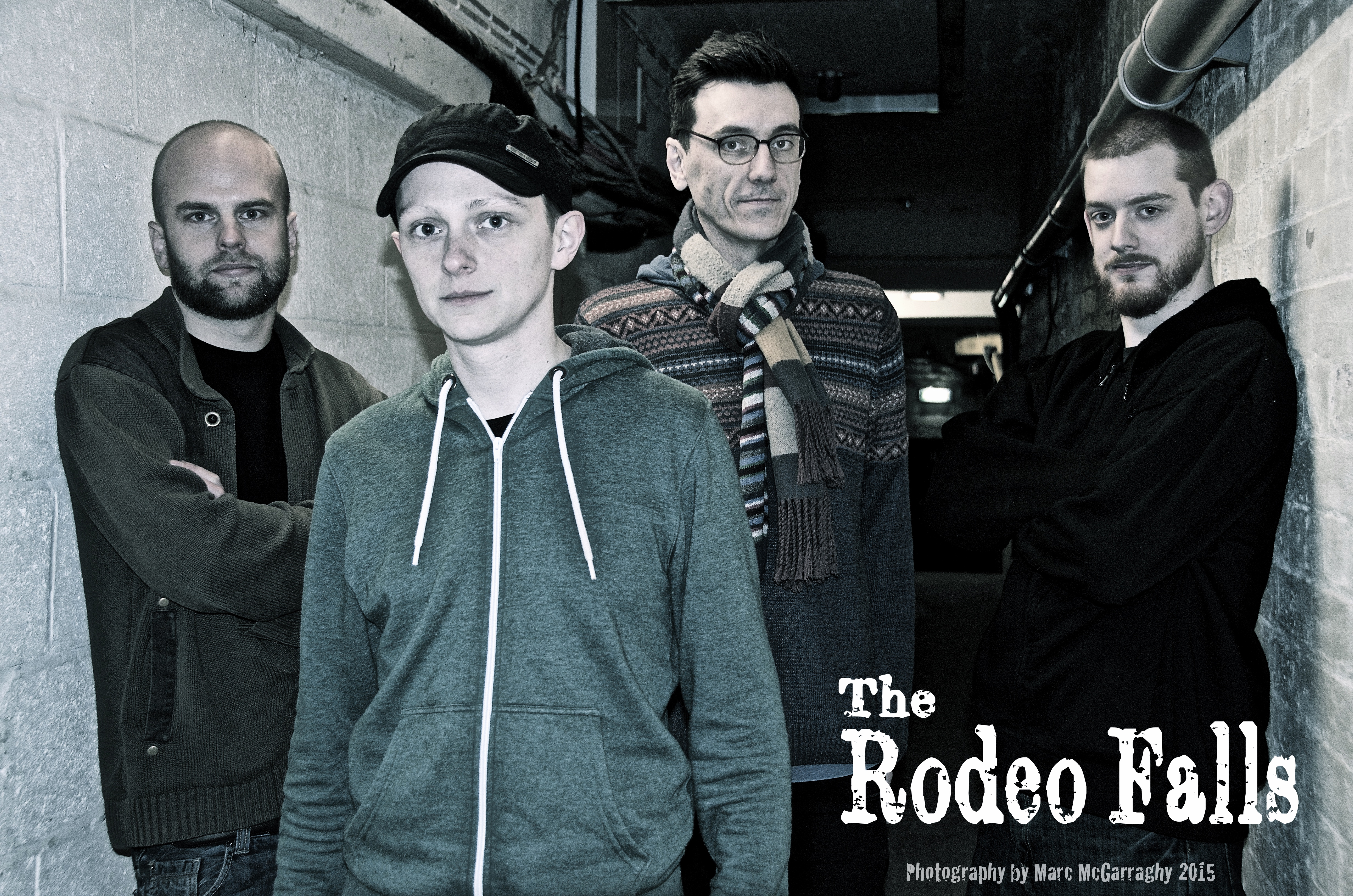 The Rodeo Falls - band shoot