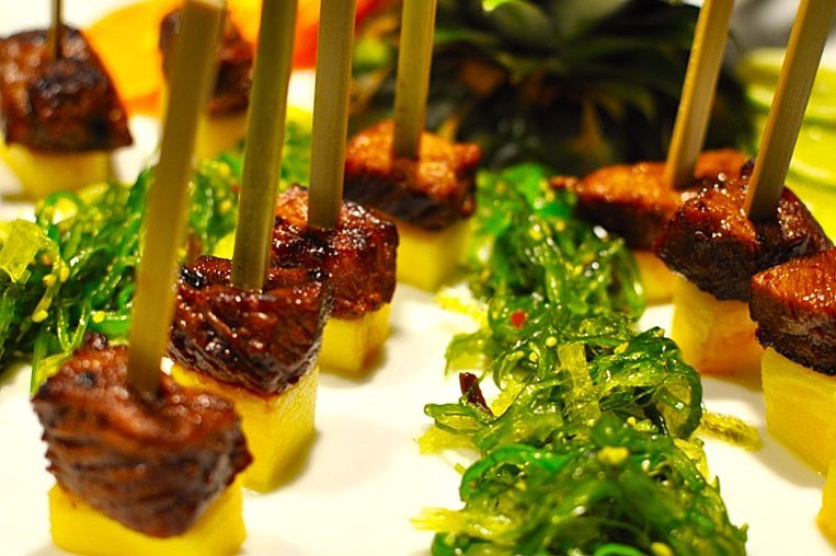 Food - Kalbi Pineapple Skewers
