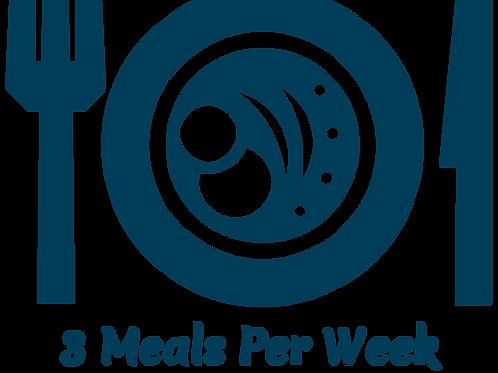 Spring 21 - Three Meals