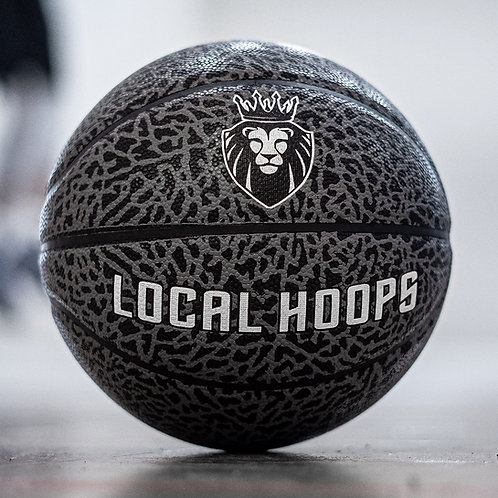 LOCALHOOPS Basketball- Black