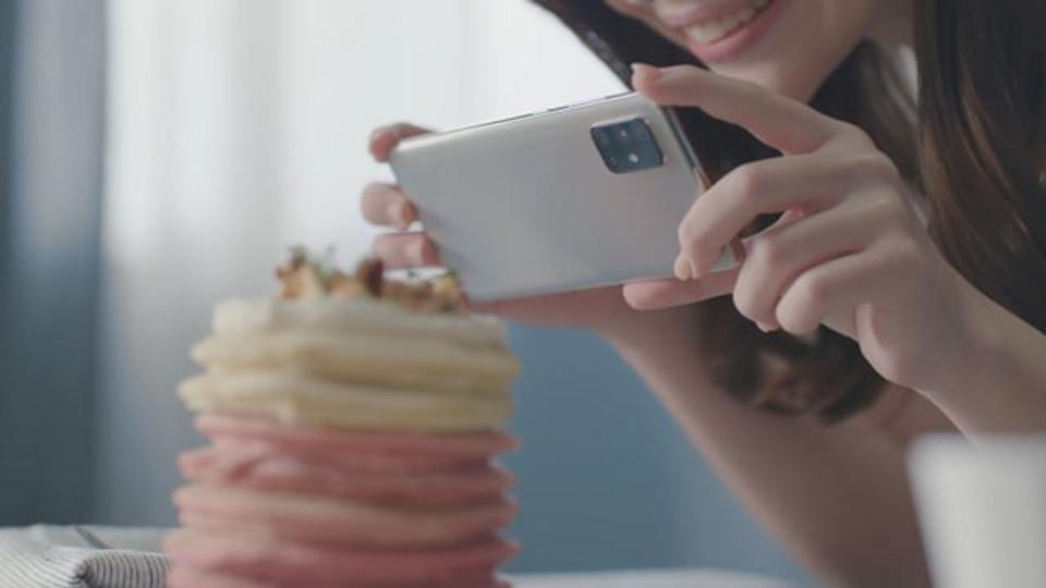 Samsung Galaxy A71_Dessert