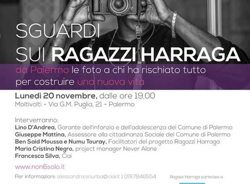 """Mostra """"Sguardi sui ragazzi Harraga"""" mostra a Milano con i nostri scatti di Studio14photo"""