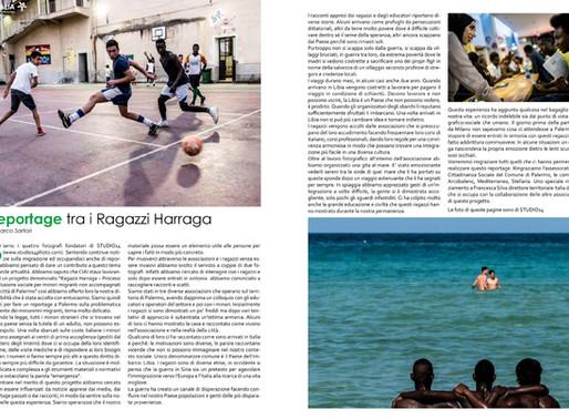RAGAZZI HARRAGA – PUBBLICAZIONE ARTICOLO DI MARCO SARTORI DI STUDIO14PHOTO SU ALBERO VERDE