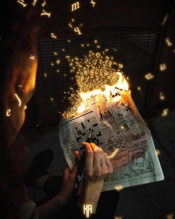 CROSSWORDS ON FIRE