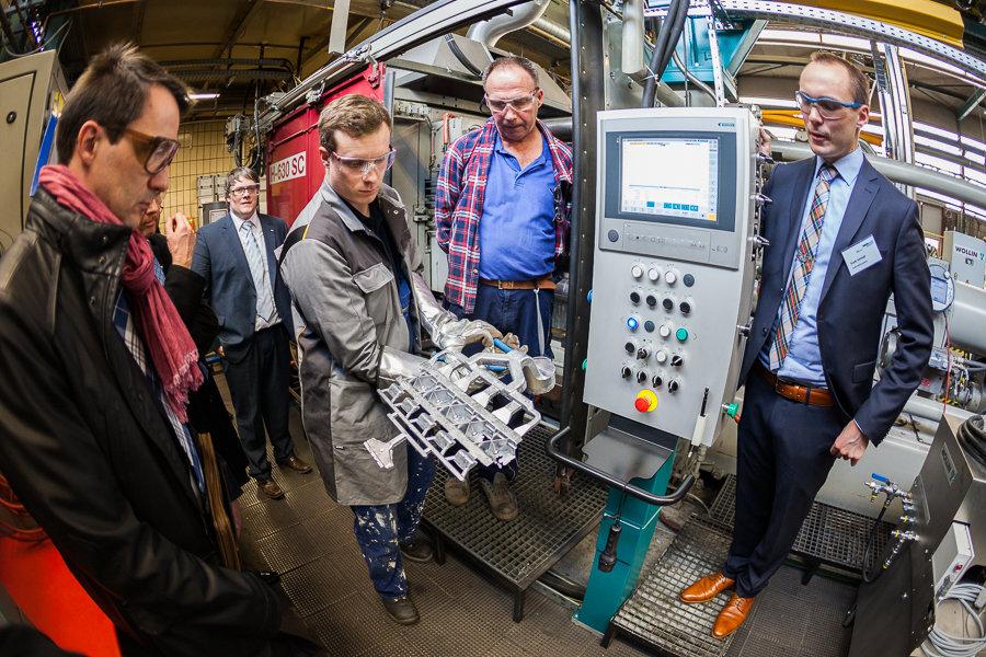 Business-Event im Werkzeugmaschinenlabor WZL der RWTH Aachen