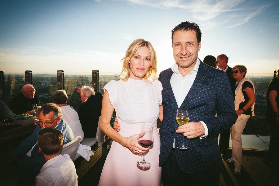 Paar bei Event in Köln