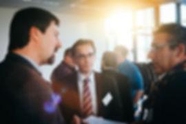 Fotografie eines Business Events bei PROTECAachen