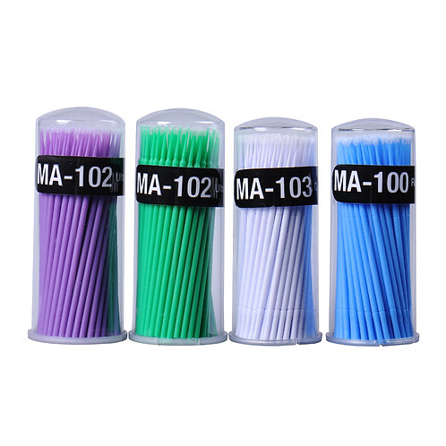 100 Disposable Cotton Swab