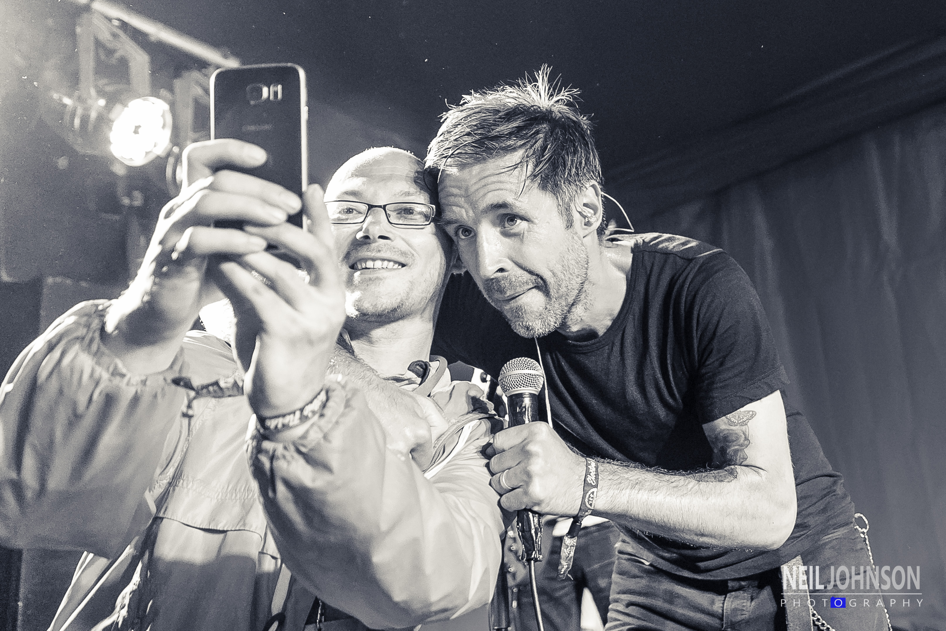 Paddy Considine and a Twitter Fan!