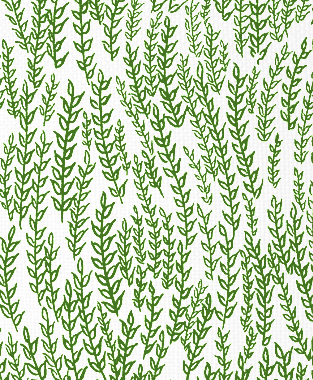 Tillett Textiles Wheatfield Forest Green