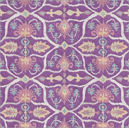 Ferran Textiles Wallpaper Lampang Amethyst