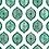 Thumbnail: OTTOMAN OGIVAL Emerald Oyster Linen