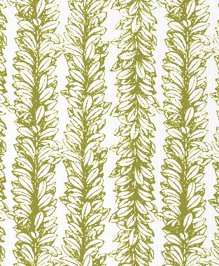 Tillett Textiles Leaves a Scrollin Forest Moss