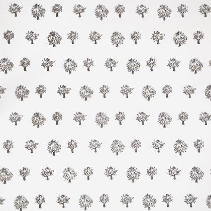 Mally Skok Dried Artichoke Wallpaper Charcoal-Taupe