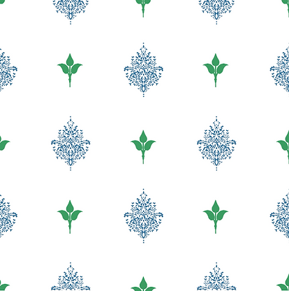 Behl Designs Kousa Bijou Blue Emb