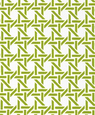 Tillett Textiles Cane Dark Lime