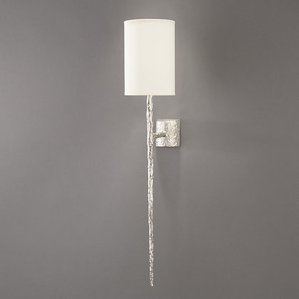 Long Hera wall lamp Nickle