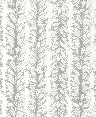 Tillett Textiles Leaves a Scrollin Sea Haze