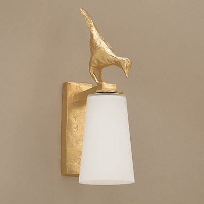 Pia Outdoor Wall Lamp Gold