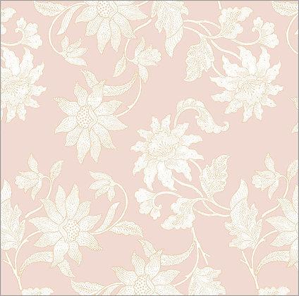 Ferran Textiles Wallpaper Java Botanical Blush