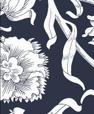 Tillett Textiles Alexandria Navy