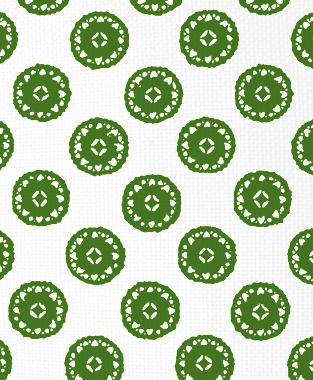 Tillett Textiles Vignelli Forest Green