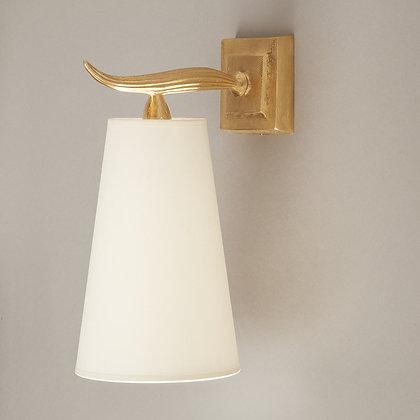 Fuso wall lamp Gold