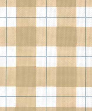 Tillett Textiles Burton Plaid Khaki & Sky