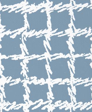Tillett Textiles Burlap Blotch JD Blue