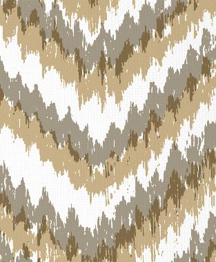 Tillett Textiles Ikat Timer Putty & Khaki