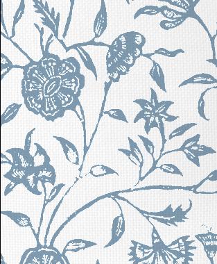 Tillett Textiles Balinese JD Blue