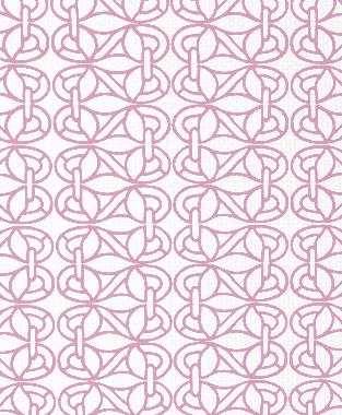 Tillett Textiles Newman's Window Pink Pansey