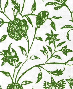 Tillett Textiles Balinese Forest Green