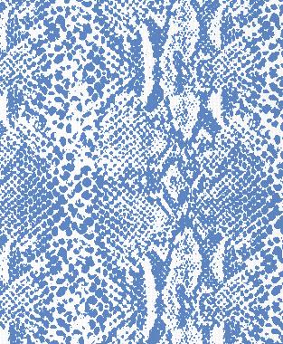 Tillett Textiles Snakeskin Blue Lapis