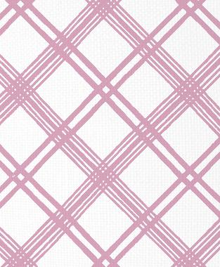 Tillett Textiles Argyle Crossing Pink Pansey