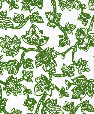Tillett Textiles Sumatra Forest Green