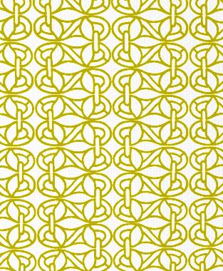 Tillett Textiles Newman's Window Charteuse