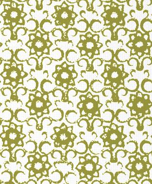 Tillett Textiles Muriel Forest Moss