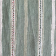 Dabu Stripe Moss Green