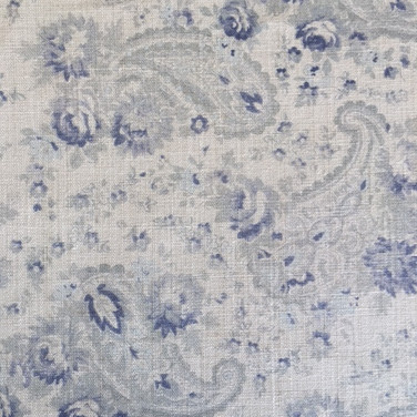 Vintage Paisley Swedish Blue