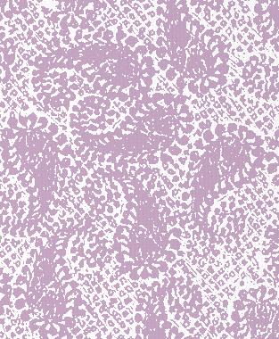 Tillett Textiles Paisley Patch Violet